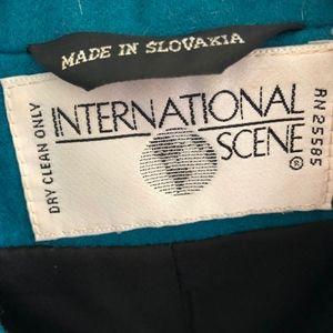 Vintage Jackets & Coats - Vintage International Scene | Long Line Blazer